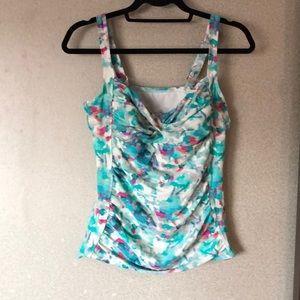 Cute tankini swim top